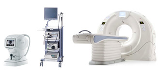medical equipment picture (Ophthalmology Endoscopy CT)