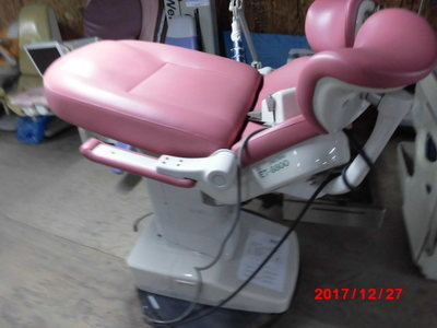 Gynecological examination table 1